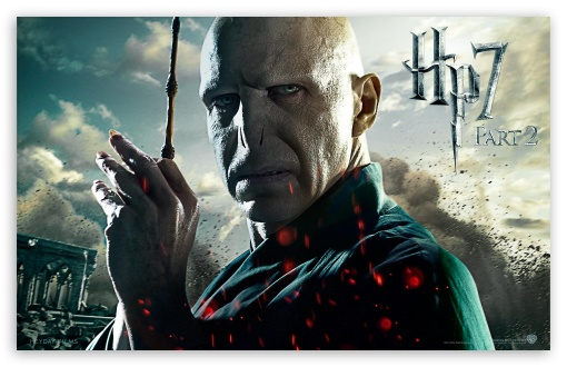 Harry Potter And The Deathly Hallows Part 2 Voldemort HD wallpaper for Wide 16:10 5:3 Widescreen WHXGA WQXGA WUXGA WXGA WGA ; Mobile WVGA - WVGA WQVGA Smartphone ( HTC Samsung Sony Ericsson LG Vertu MIO ) ;