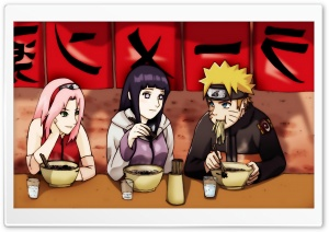 Haruno Sakura, Hyuuga Hinata And Naruto Uzumaki HD Wide Wallpaper for 4K UHD Widescreen desktop & smartphone