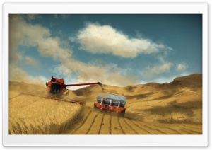 Harvest HD Wide Wallpaper for Widescreen