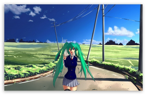 Hatsune Miku Green Hair HD wallpaper for Wide 16:10 5:3 Widescreen WHXGA WQXGA WUXGA WXGA WGA ; HD 16:9 High Definition WQHD QWXGA 1080p 900p 720p QHD nHD ; Standard 4:3 5:4 3:2 Fullscreen UXGA XGA SVGA QSXGA SXGA DVGA HVGA HQVGA devices ( Apple PowerBook G4 iPhone 4 3G 3GS iPod Touch ) ; Tablet 1:1 ; iPad 1/2/Mini ; Mobile 4:3 5:3 3:2 16:9 5:4 - UXGA XGA SVGA WGA DVGA HVGA HQVGA devices ( Apple PowerBook G4 iPhone 4 3G 3GS iPod Touch ) WQHD QWXGA 1080p 900p 720p QHD nHD QSXGA SXGA ; Dual 4:3 5:4 UXGA XGA SVGA QSXGA SXGA ;