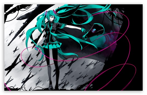 Hatsune Miku Vocaloid HD wallpaper for Wide 16:10 5:3 Widescreen WHXGA WQXGA WUXGA WXGA WGA ; Standard 4:3 5:4 3:2 Fullscreen UXGA XGA SVGA QSXGA SXGA DVGA HVGA HQVGA devices ( Apple PowerBook G4 iPhone 4 3G 3GS iPod Touch ) ; iPad 1/2/Mini ; Mobile 4:3 5:3 3:2 16:9 5:4 - UXGA XGA SVGA WGA DVGA HVGA HQVGA devices ( Apple PowerBook G4 iPhone 4 3G 3GS iPod Touch ) WQHD QWXGA 1080p 900p 720p QHD nHD QSXGA SXGA ;