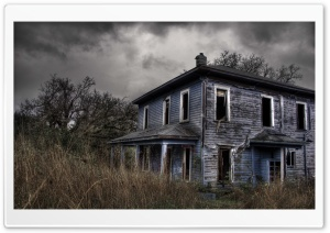 Haunted House HD Wide Wallpaper for Widescreen