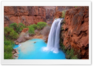 Havasu Falls Arizona HD Wide Wallpaper for 4K UHD Widescreen desktop & smartphone