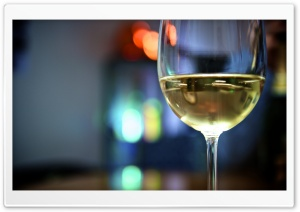 Having A Glass Of Wine HD Wide Wallpaper for Widescreen