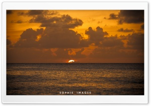 Hawaii Golden Sunset HD Wide Wallpaper for Widescreen