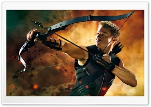 Hawkeye In The Avengers HD Wide Wallpaper for Widescreen