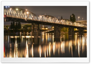 Hawthorne Bridge HD Wide Wallpaper for Widescreen