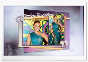 Hayden Panettiere in Sari Dress HD Wide Wallpaper for Widescreen