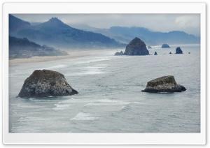 Haystack Rock in Color Ultra HD Wallpaper for 4K UHD Widescreen desktop, tablet & smartphone
