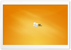 HD Orange Desktop Vista HD Wide Wallpaper for Widescreen