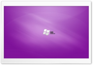 HD Purple Desktop Vista