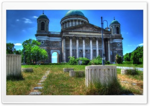 HDR Basilica HD Wide Wallpaper for Widescreen