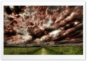 HDR Clouds HD Wide Wallpaper for Widescreen