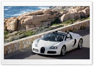 HDTV Bugatti Veyron Cabrio HD Wide Wallpaper for Widescreen