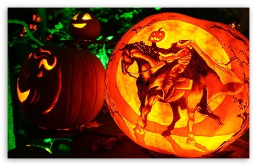 Headless Horseman Jack O Lantern ❤ 4K UHD Wallpaper for Wide 16:10 5:3 Widescreen WHXGA WQXGA WUXGA WXGA WGA ; 4K UHD 16:9 Ultra High Definition 2160p 1440p 1080p 900p 720p ; Mobile 5:3 16:9 - WGA 2160p 1440p 1080p 900p 720p ;
