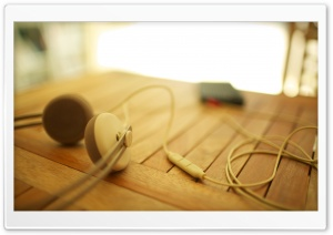 Headphones My iPhone 2 HD Wide Wallpaper for Widescreen