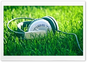 Headphones Tiesto HD Wide Wallpaper for Widescreen