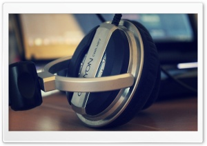 Headset HD Wide Wallpaper for Widescreen