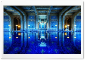 Hearst Castle Pool HD Wide Wallpaper for Widescreen