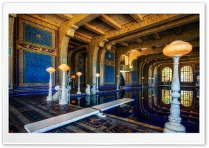 Hearst Castle Roman Pool HD Wide Wallpaper for 4K UHD Widescreen desktop & smartphone