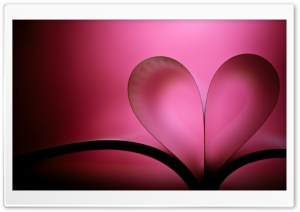 Heart Book Valentine's Day HD Wide Wallpaper for 4K UHD Widescreen desktop & smartphone