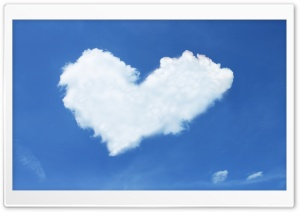 Heart Cloud HD Wide Wallpaper for Widescreen