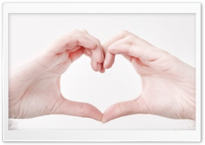 Heart Hands HD Wide Wallpaper for Widescreen