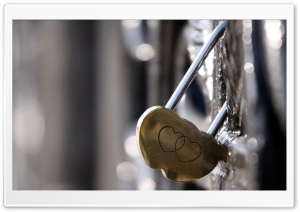 Heart Lock Ultra HD Wallpaper for 4K UHD Widescreen desktop, tablet & smartphone