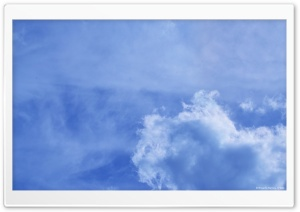 Heart Shaped Cloud HD Wide Wallpaper for Widescreen