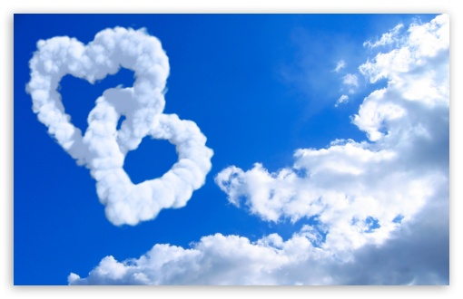 Heart Shaped Clouds HD wallpaper for Wide 16:10 5:3 Widescreen WHXGA WQXGA WUXGA WXGA WGA ; HD 16:9 High Definition WQHD QWXGA 1080p 900p 720p QHD nHD ; Standard 4:3 5:4 3:2 Fullscreen UXGA XGA SVGA QSXGA SXGA DVGA HVGA HQVGA devices ( Apple PowerBook G4 iPhone 4 3G 3GS iPod Touch ) ; Tablet 1:1 ; iPad 1/2/Mini ; Mobile 4:3 5:3 3:2 16:9 5:4 - UXGA XGA SVGA WGA DVGA HVGA HQVGA devices ( Apple PowerBook G4 iPhone 4 3G 3GS iPod Touch ) WQHD QWXGA 1080p 900p 720p QHD nHD QSXGA SXGA ; Dual 5:4 QSXGA SXGA ;