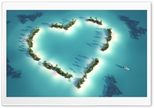 Heart Shaped Romance HD Wide Wallpaper for Widescreen