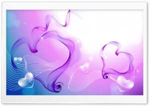 Hearts All Over Ultra HD Wallpaper for 4K UHD Widescreen desktop, tablet & smartphone