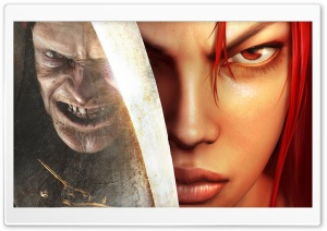 Heavenly Sword Nariko HD Wide Wallpaper for Widescreen