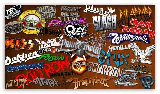 Heavy Metal Bands 1 Ultra Hd Desktop Background Wallpaper For 4k Uhd Tv