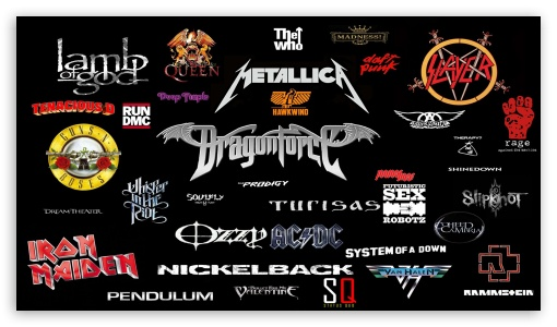 Heavy Metal Bands 3 Ultra Hd Desktop Background Wallpaper For 4k Uhd Tv