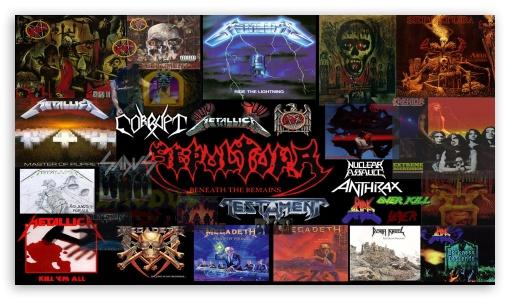 Heavy Metal Compilation 1 Ultra Hd Desktop Background Wallpaper For 4k Uhd Tv
