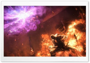Heihachi Mishima vs Akuma Ultra HD Wallpaper for 4K UHD Widescreen desktop, tablet & smartphone