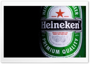 Heineken Beer HD Wide Wallpaper for Widescreen