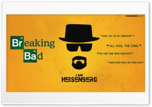 Heisenberg Breaking Bad Ultra HD Wallpaper for 4K UHD Widescreen desktop, tablet & smartphone