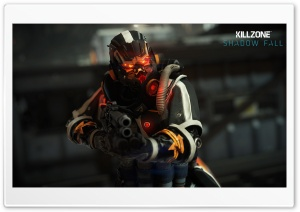 Helghast Infantry - Killzone Shadow Fall HD Wide Wallpaper for Widescreen
