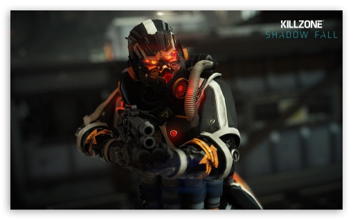 Helghast Infantry - Killzone Shadow Fall HD wallpaper for Wide 5:3 Widescreen WGA ; HD 16:9 High Definition WQHD QWXGA 1080p 900p 720p QHD nHD ; Mobile 5:3 16:9 - WGA WQHD QWXGA 1080p 900p 720p QHD nHD ;