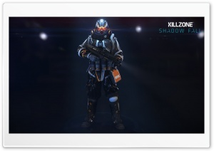 Helghast Infantry - Killzone Shadow Fall Game HD Wide Wallpaper for Widescreen