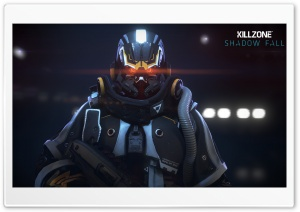 Helghast Infantry - Killzone Shadow Fall Video Game HD Wide Wallpaper for Widescreen