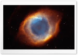 Helix Nebula HD Wide Wallpaper for Widescreen
