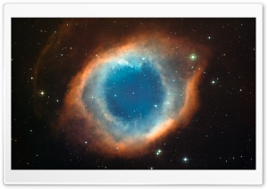 Helix Nebula Eye Of God HD Wide Wallpaper for Widescreen