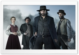 Hell on Wheels TV Show Cast Ultra HD Wallpaper for 4K UHD Widescreen desktop, tablet & smartphone
