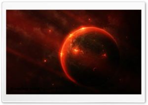 Hell Planet HD Wide Wallpaper for Widescreen