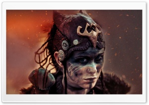 Hellblade Senua HD Wide Wallpaper for Widescreen