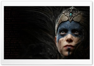 Hellblade Senua's Sacrifice Video Game HD Wide Wallpaper for Widescreen