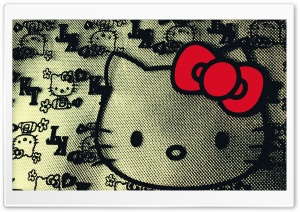 Hello Kitty Design HD Wide Wallpaper for Widescreen